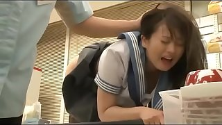 Slurps Japanese Schoolgirls Getting Abused By A Group Of Men