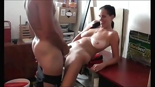 Pounding Slutty Mom with Saggy Tits