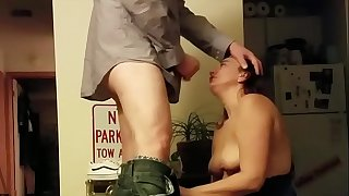 Facefuck and facial cumshot by a Tinder date