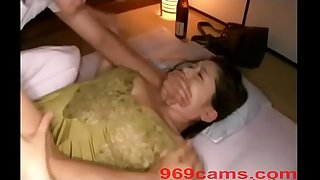 Japanese Wife Strength Fuck While Sleeping